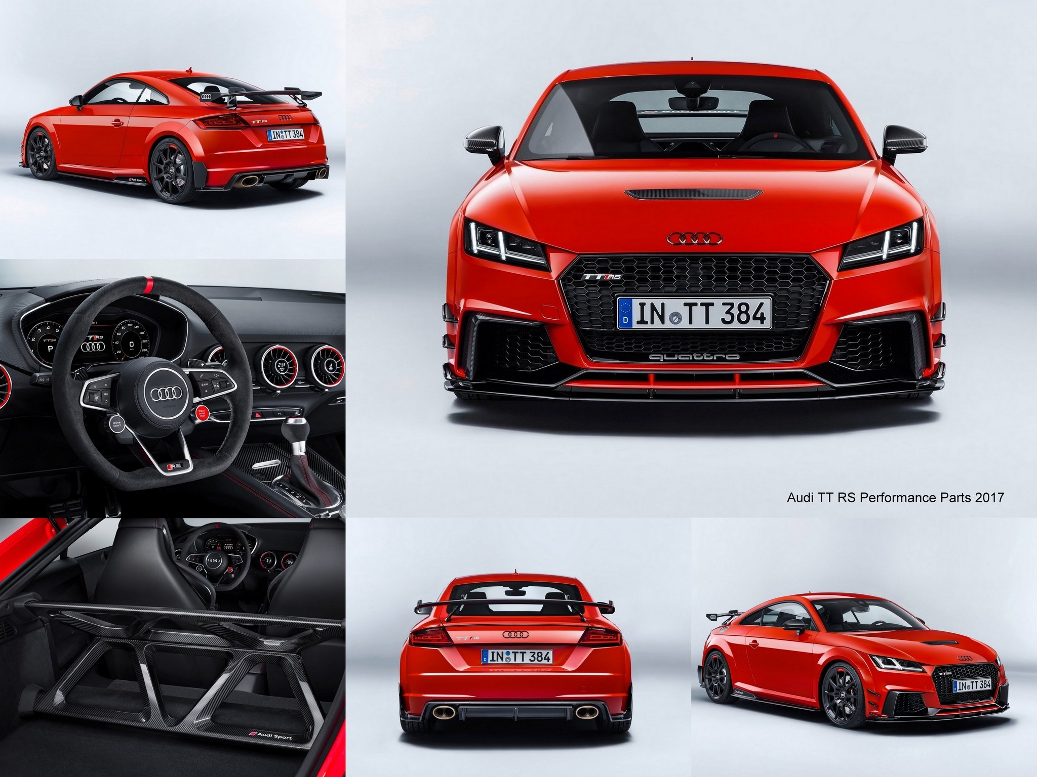 2018 audi tt rs performance parts photoscar. Black Bedroom Furniture Sets. Home Design Ideas