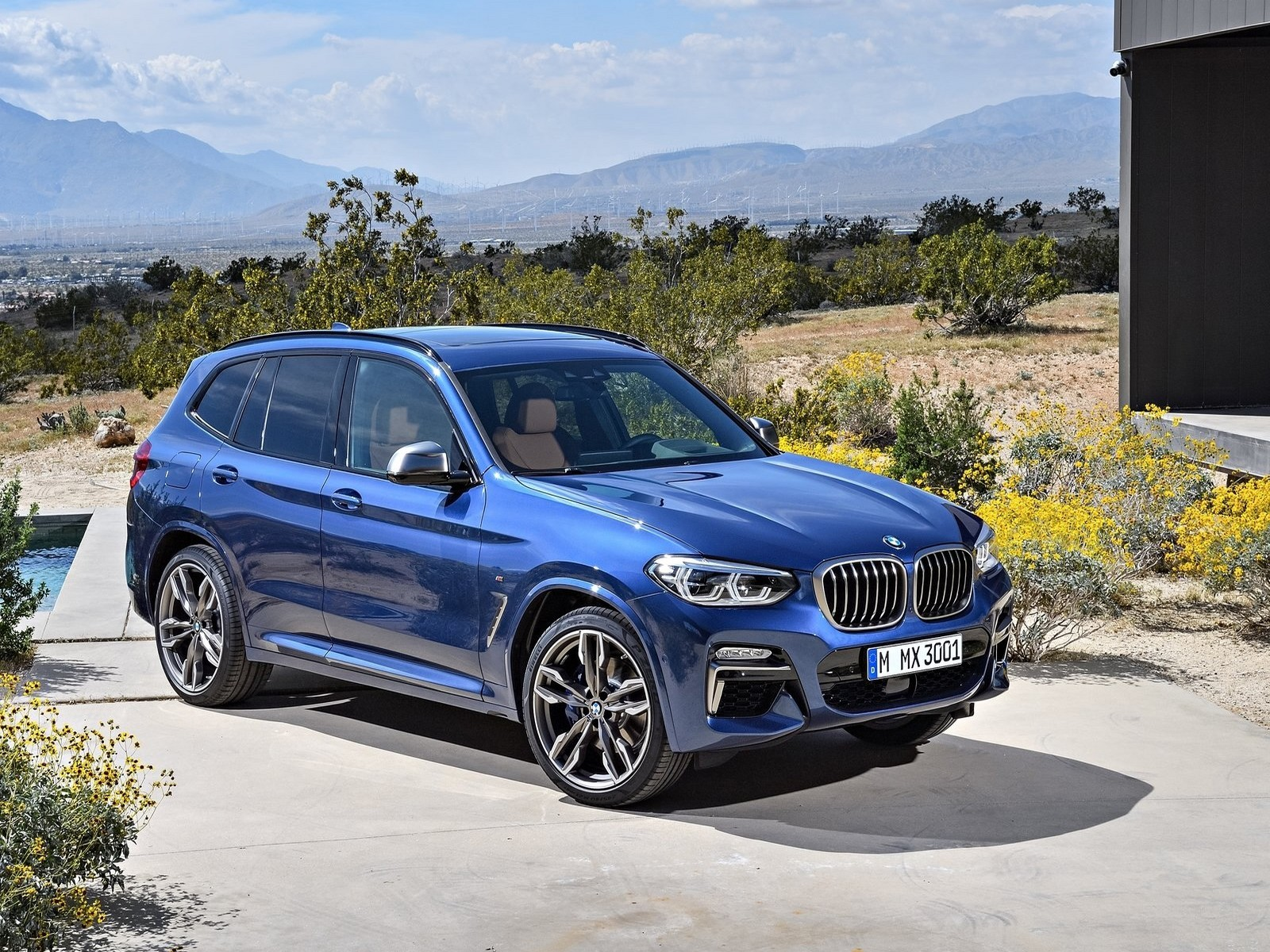 le nouveau bmw x3 et x3 m40i 2018 les premi re photos du. Black Bedroom Furniture Sets. Home Design Ideas