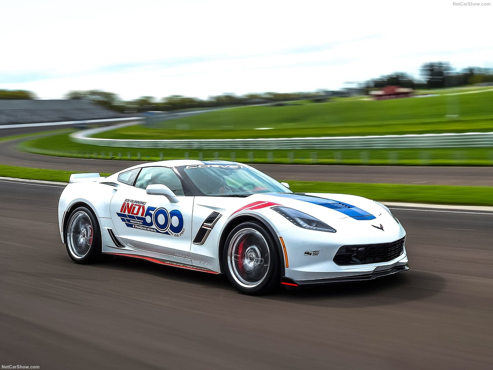 chevrolet corvette grand sport indy 500 pacecar 2017 photoscar. Black Bedroom Furniture Sets. Home Design Ideas