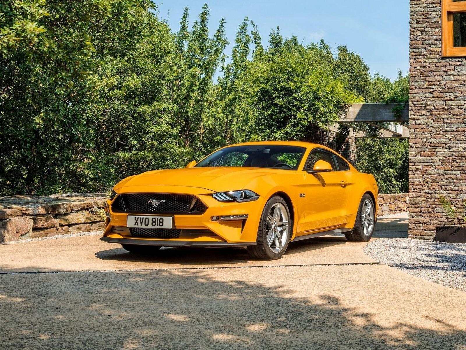 3 5 L Ecoboost >> Ford Mustang GT EU Version 2018 - Une boite automatique à dix rapports.