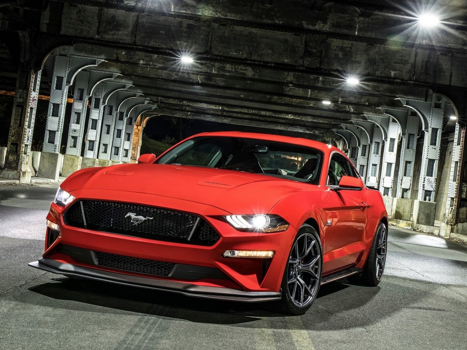 Ford Mustang Gt Performance Pack Level 2 2018 Moteur 5 L