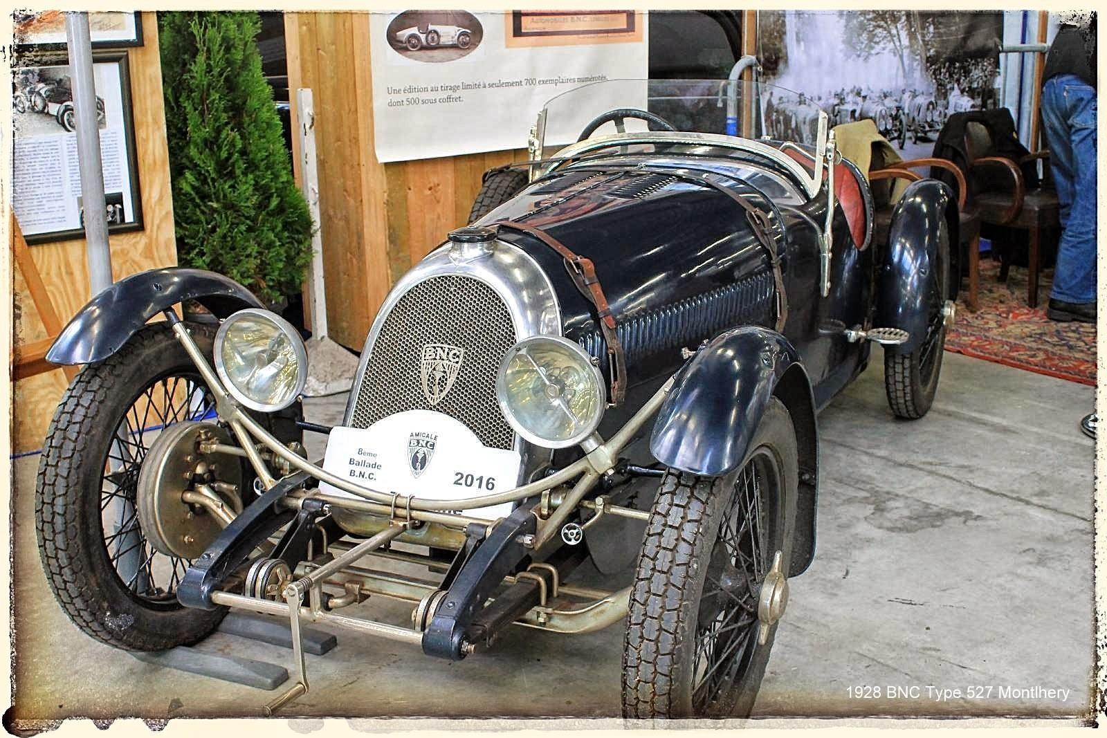 Automédon - 1928 BNC Type 527 Montlhery