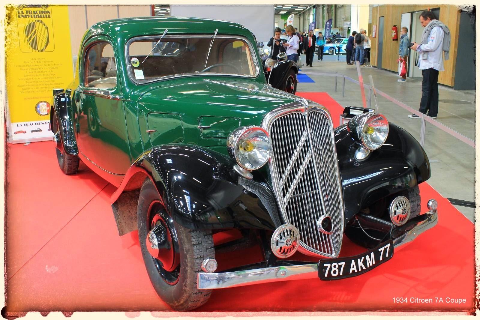 Automédon - 1934 Citroen 7A Coupe