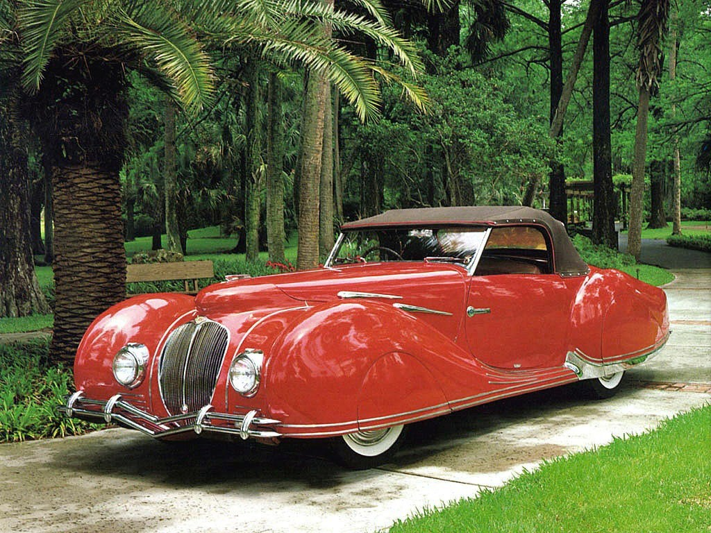 1936 Delahaye 135 M Figoni Falaschi Roadster