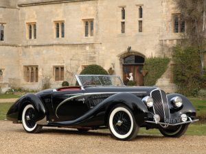 1938 Delahaye 135 MS Cabriolet by Figoni and Falaschi