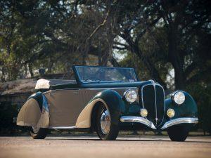 1948 Delahaye 135 M Cabriolet by Pennock