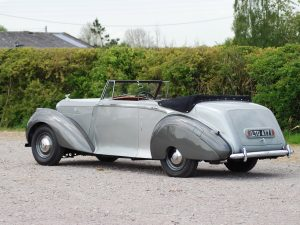 1949 Bentley Mark VI Drophead Coupe by Park Ward