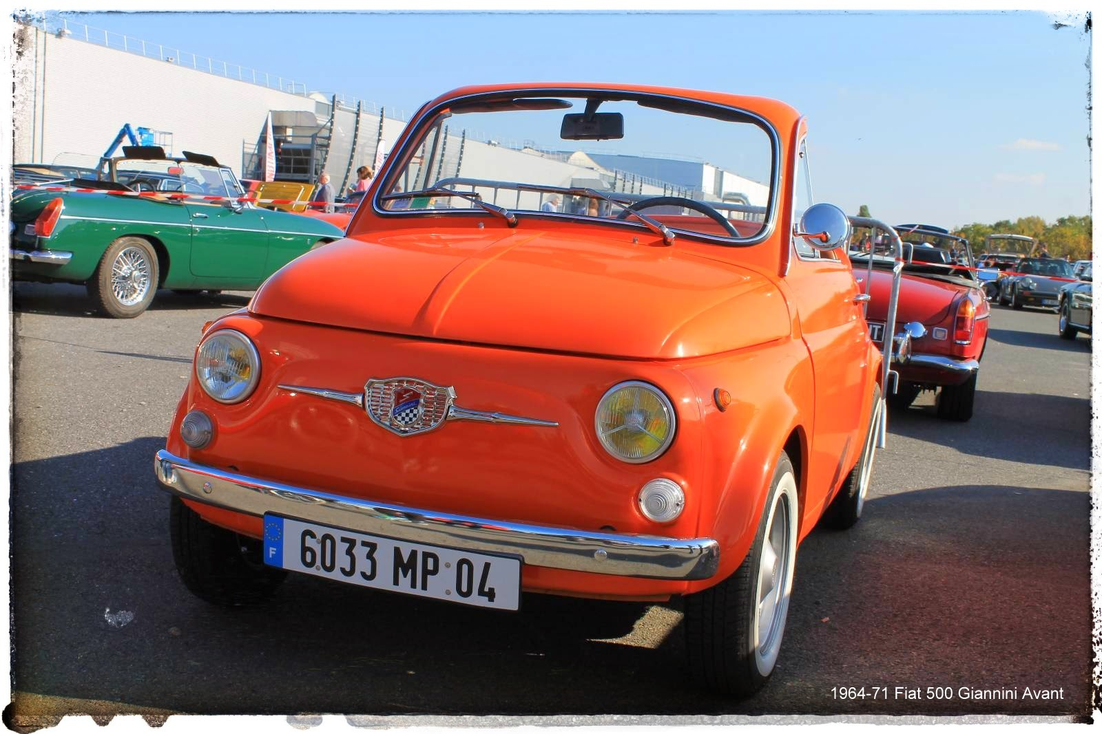 Automédon - 1964-71 Fiat 500 Giannini Avant