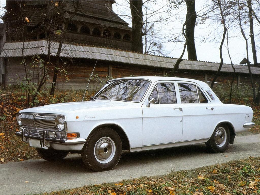 1968 1984 Gaz M24 Volga
