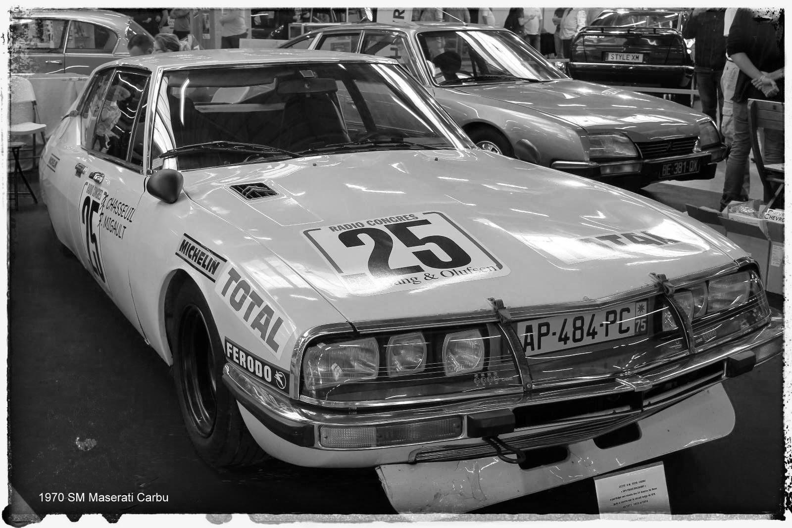 Automédon - 1970 SM Maserati Carbu