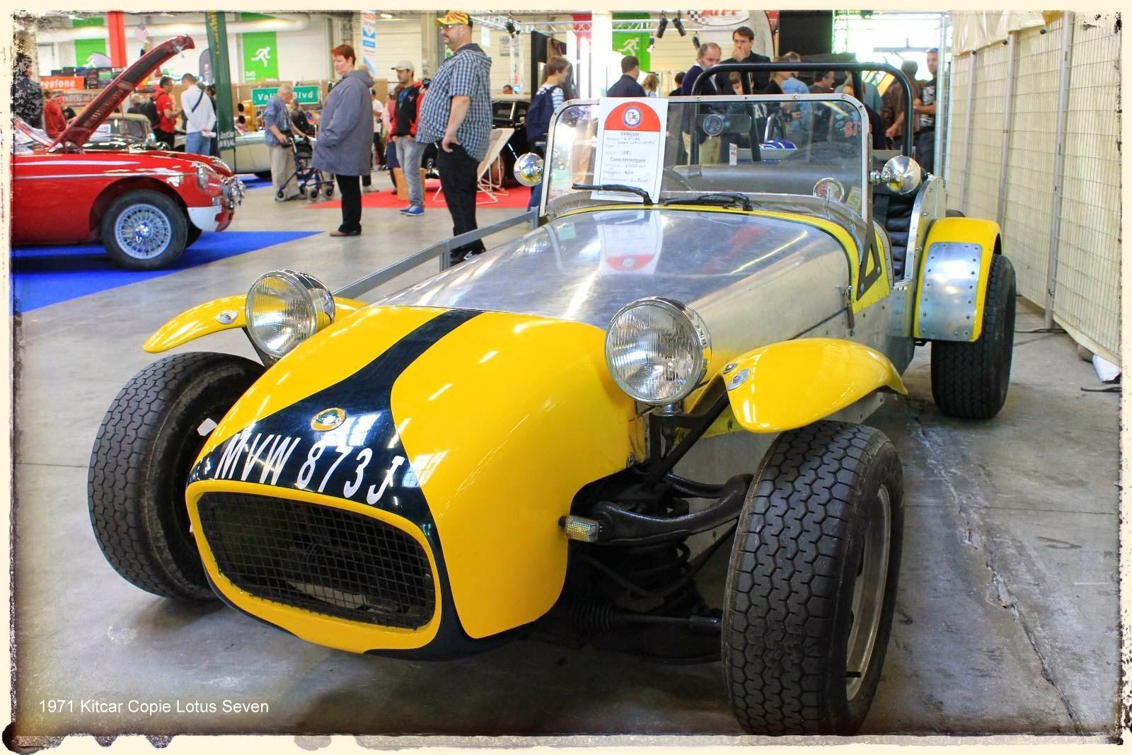 Automédon - 1971 Kitcar Copie Lotus Seven