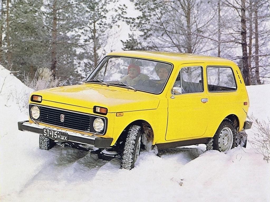 1975 Lada Niva 2121 Prototype