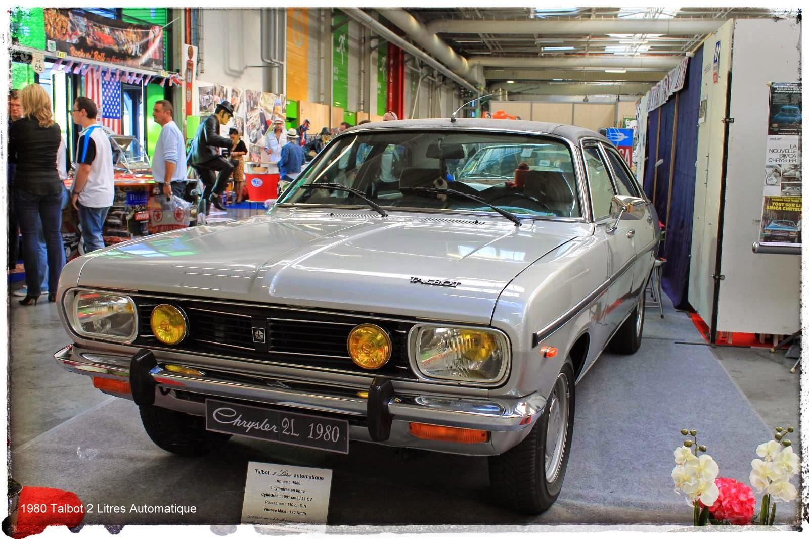 Automédon - 1980 Talbot 2 Litres Automatique