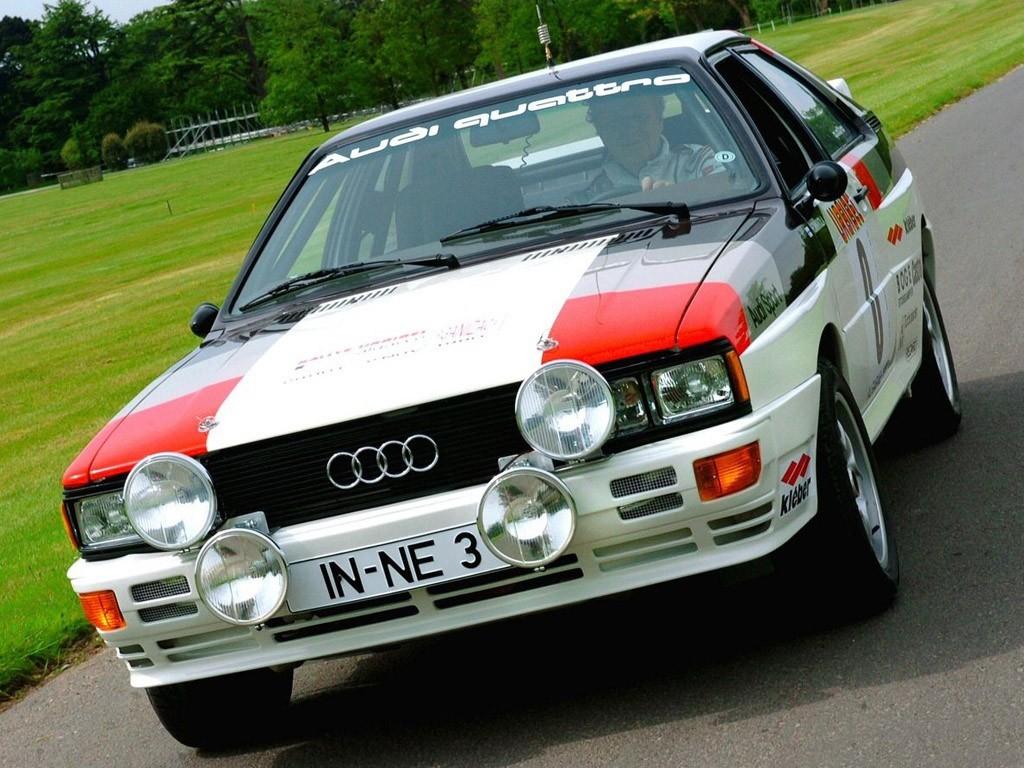1980 Audi Quattro Rally
