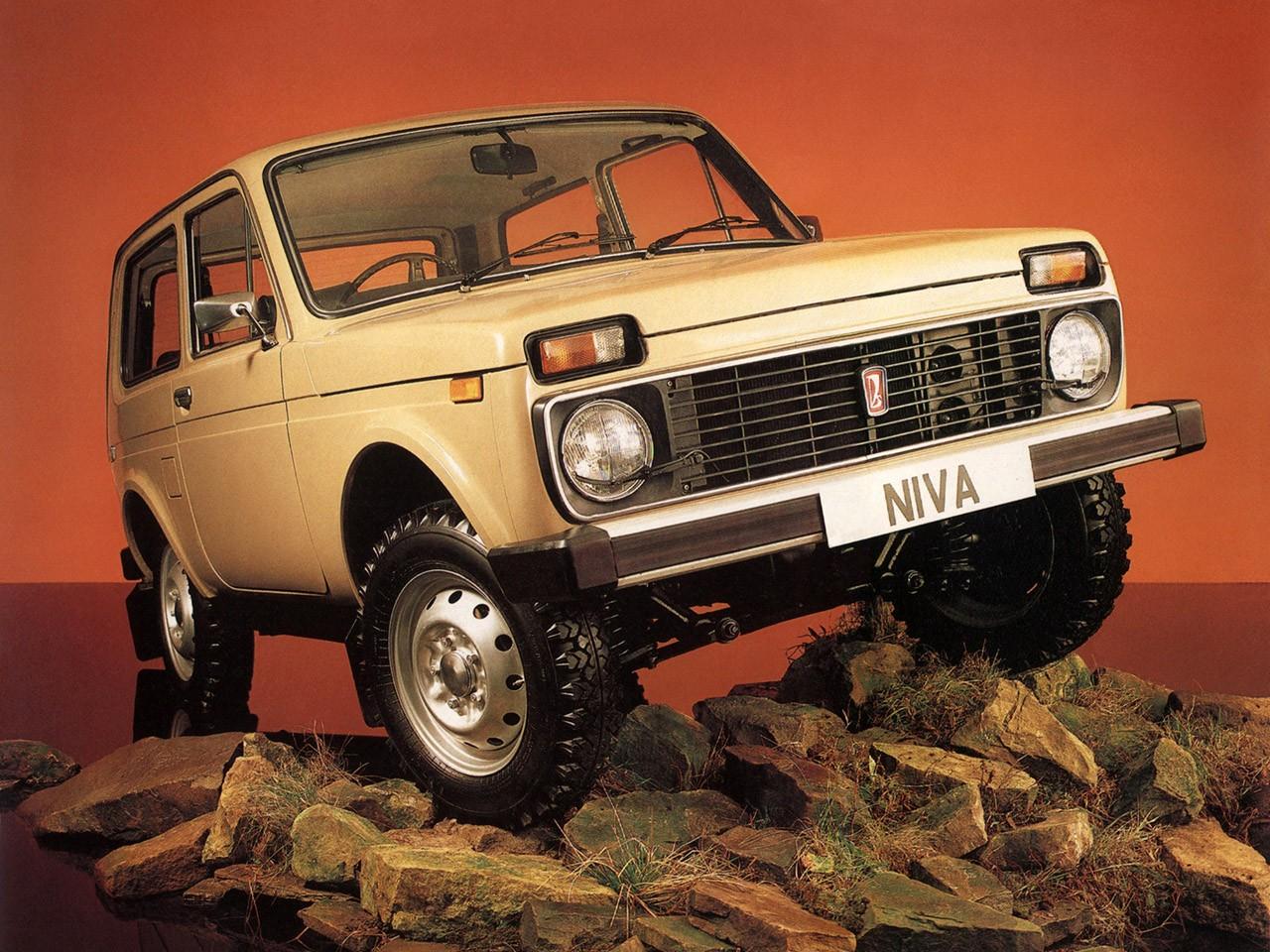 1983 Lada Niva 4x4 21212