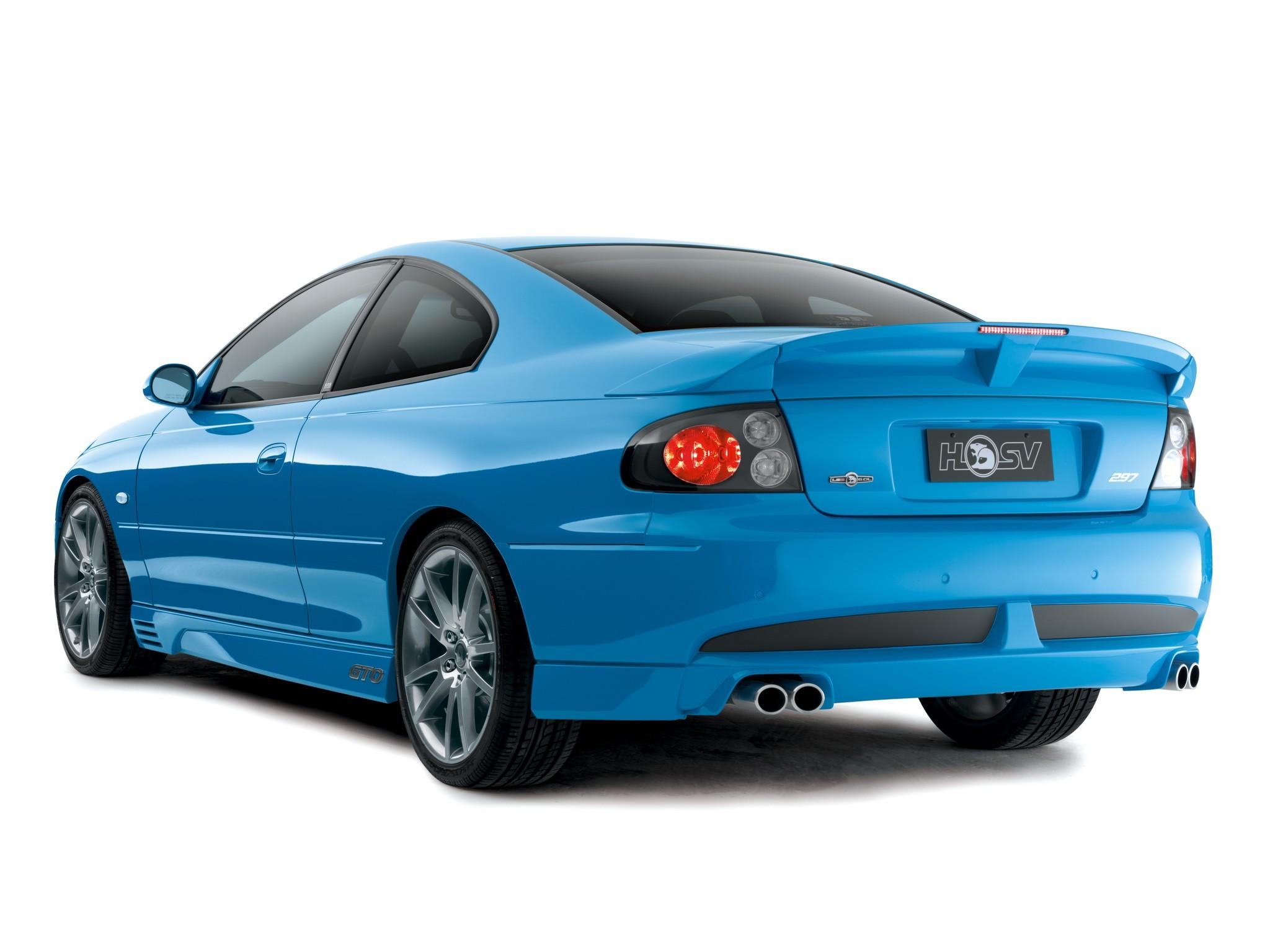 2003 HSV Coupe GTO