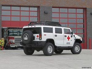 2005 Hummer H2 ARC 4x4 firetruck emergency
