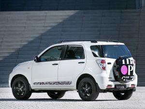 2010 Daihatsu Terios Think Pink