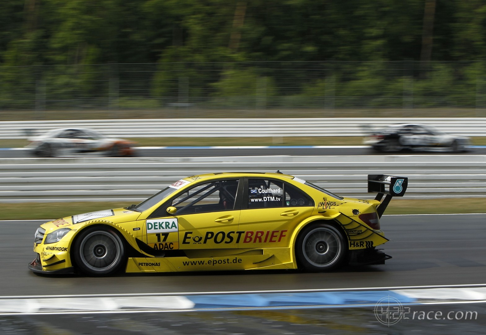 2011 DTM - Mercedes - David Coulthard