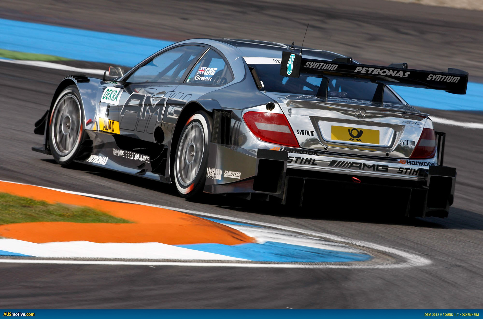 2012 DTM Hockenheim - Mercedes - Green
