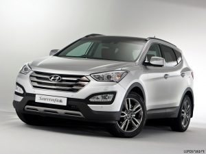 2012 Hyundai Santa FE UK