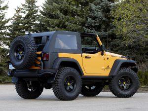 2012 Jeep Wrangler Traildozer Concept