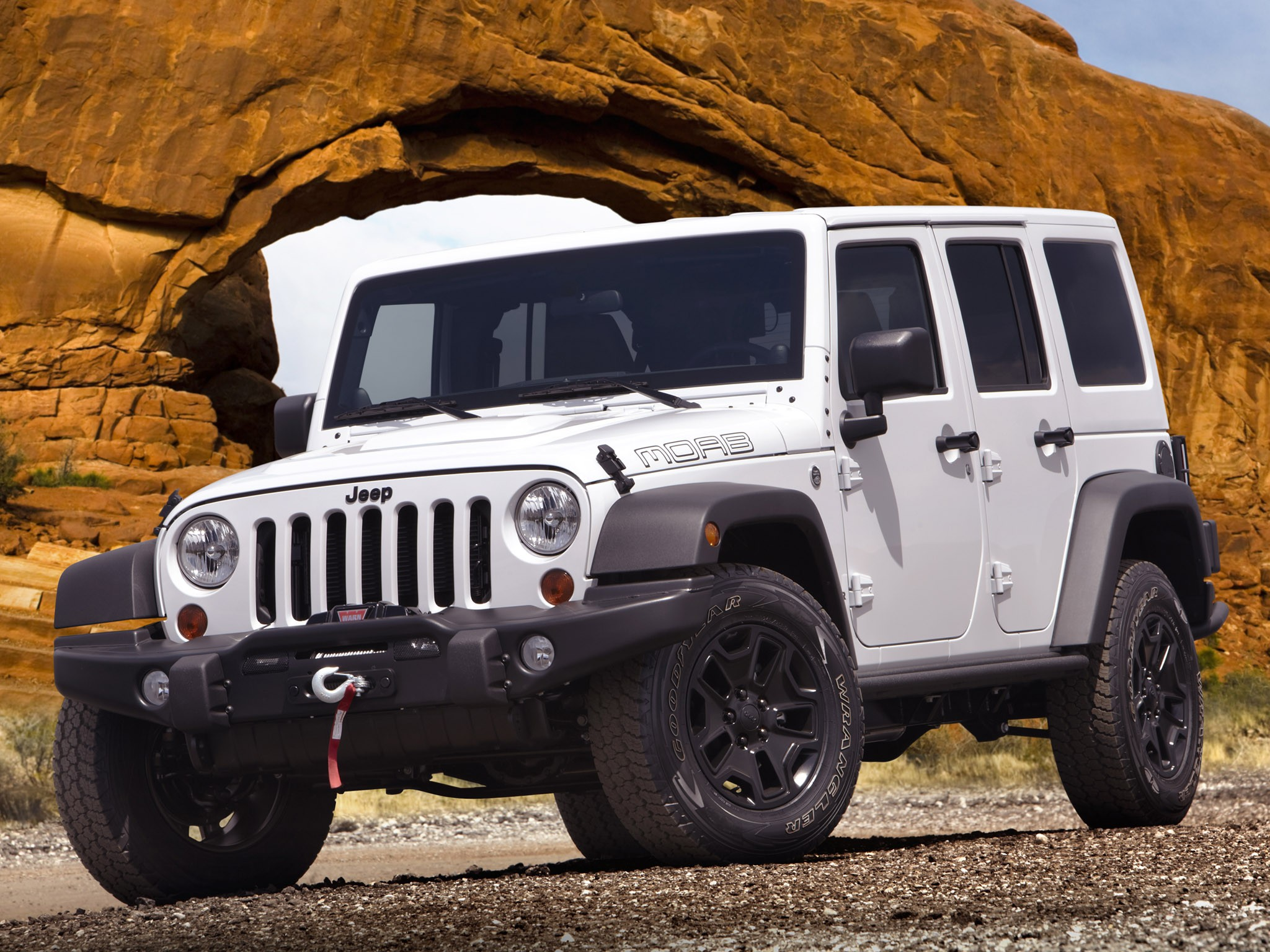 2012 Jeep Wrangler Unlimited Moab