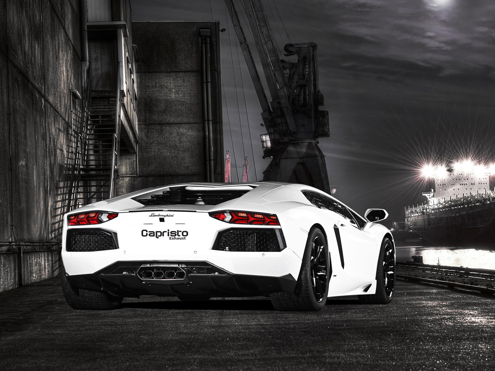Lamborghini Aventador Carbon 2012 by Capristo