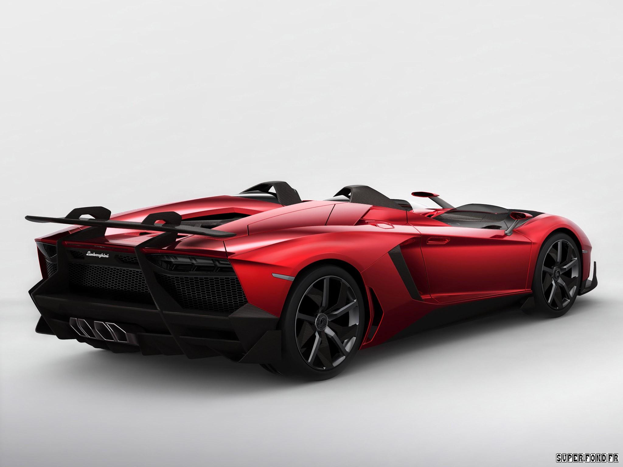 Lamborghini Aventador J 2012