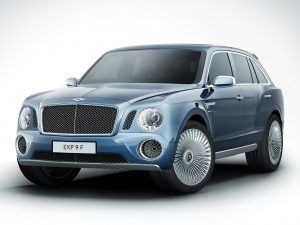 2012 Bentley EXP9 F Concept