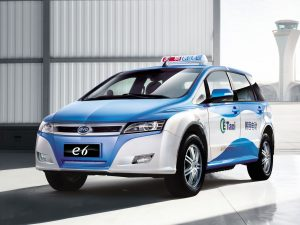 2012 Byd Auto E6 Taxi électriques