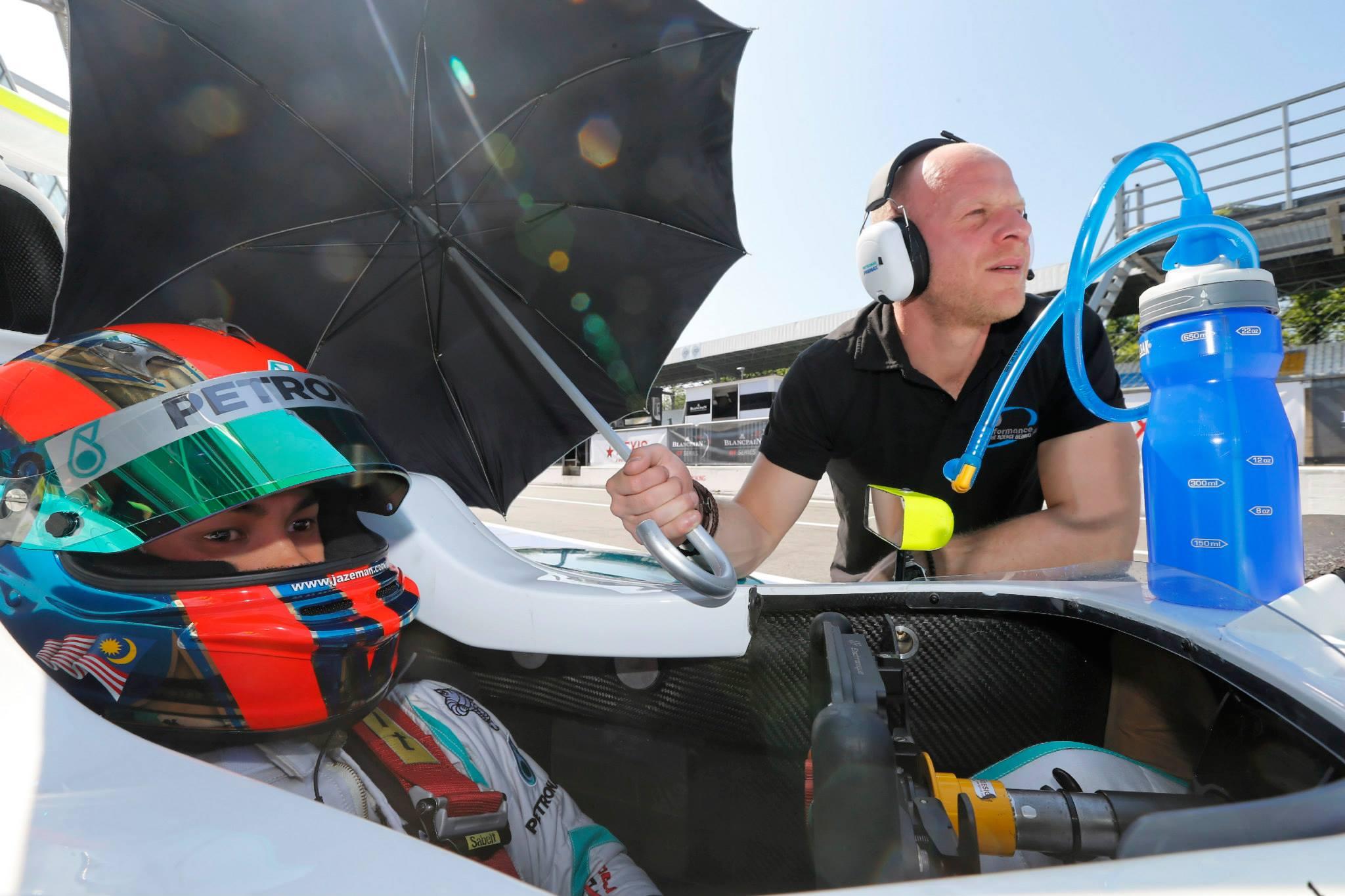 2014 Formula Renault 3.5 Series - Monza - Jazeman Jaafar