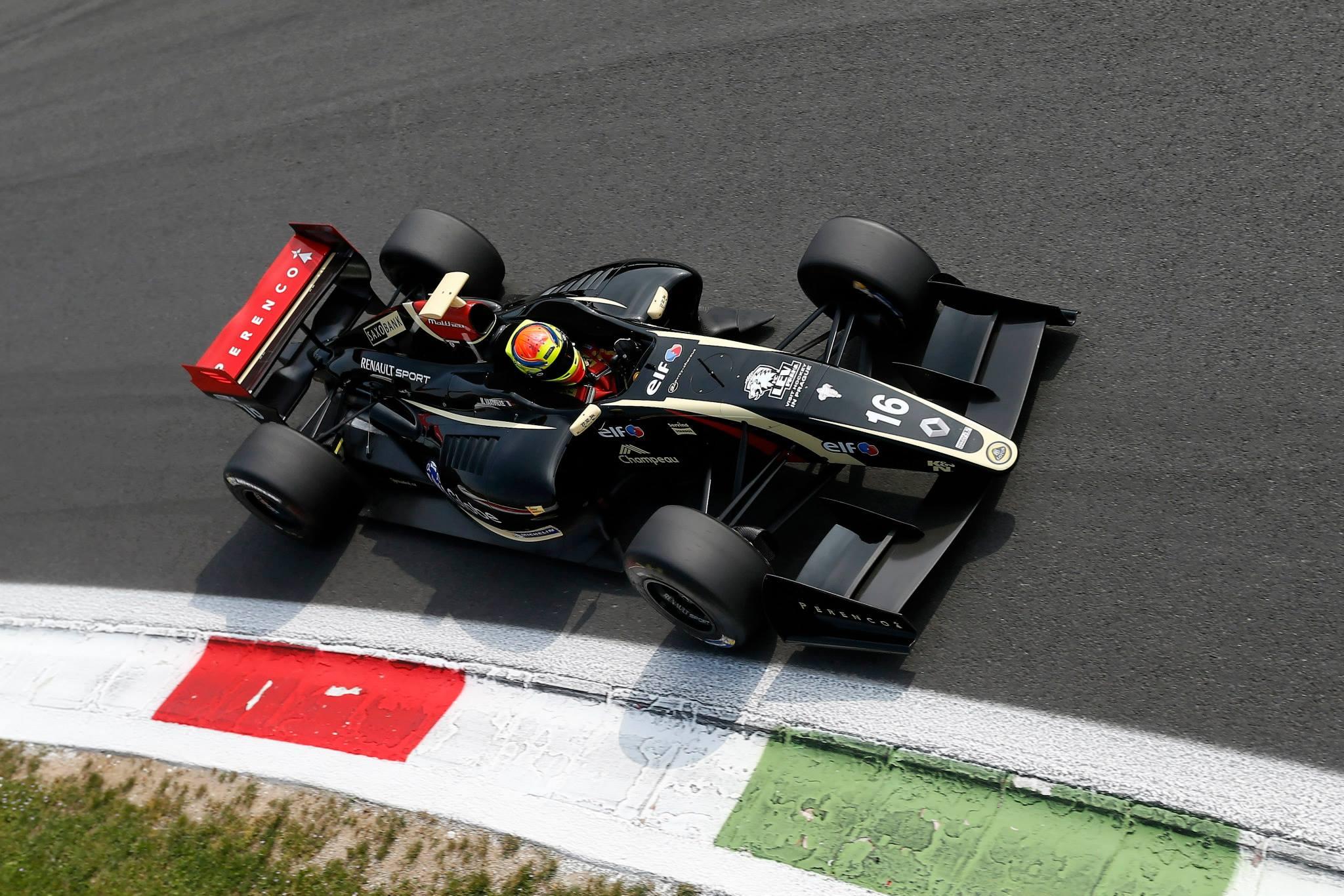 2014 Formula Renault 3.5 Series - Monza - Matthieu Vaxiviere