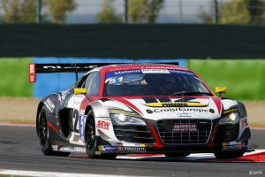 2014 GT Tour Magny-Cours Audi R8 LMS Ultra N°51