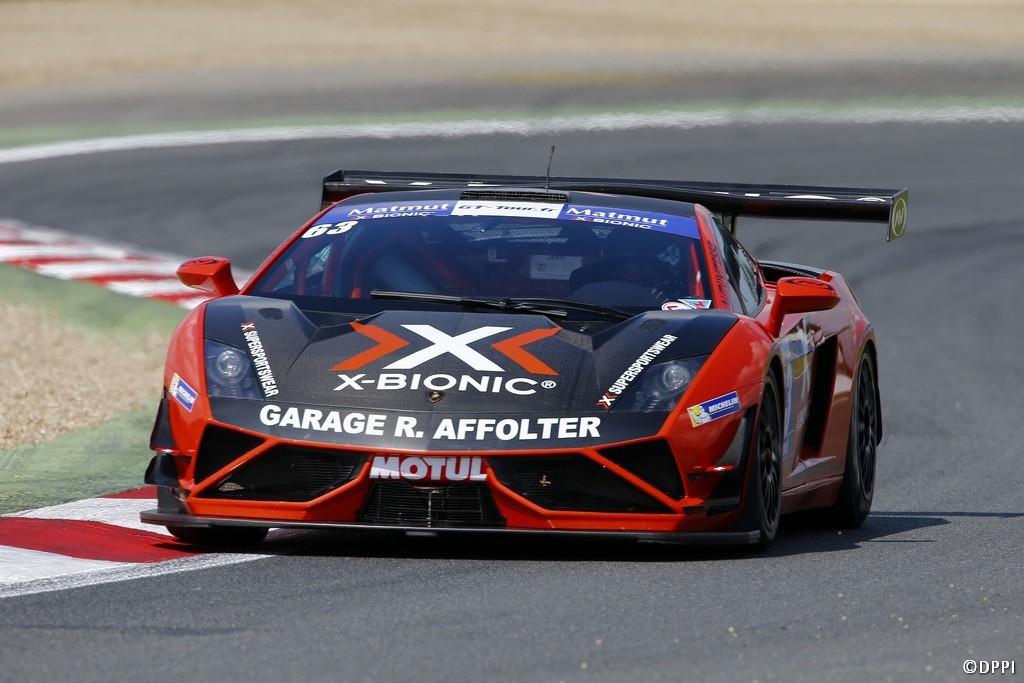 2014 GT Tour Magny-Cours Lamborghini N°63