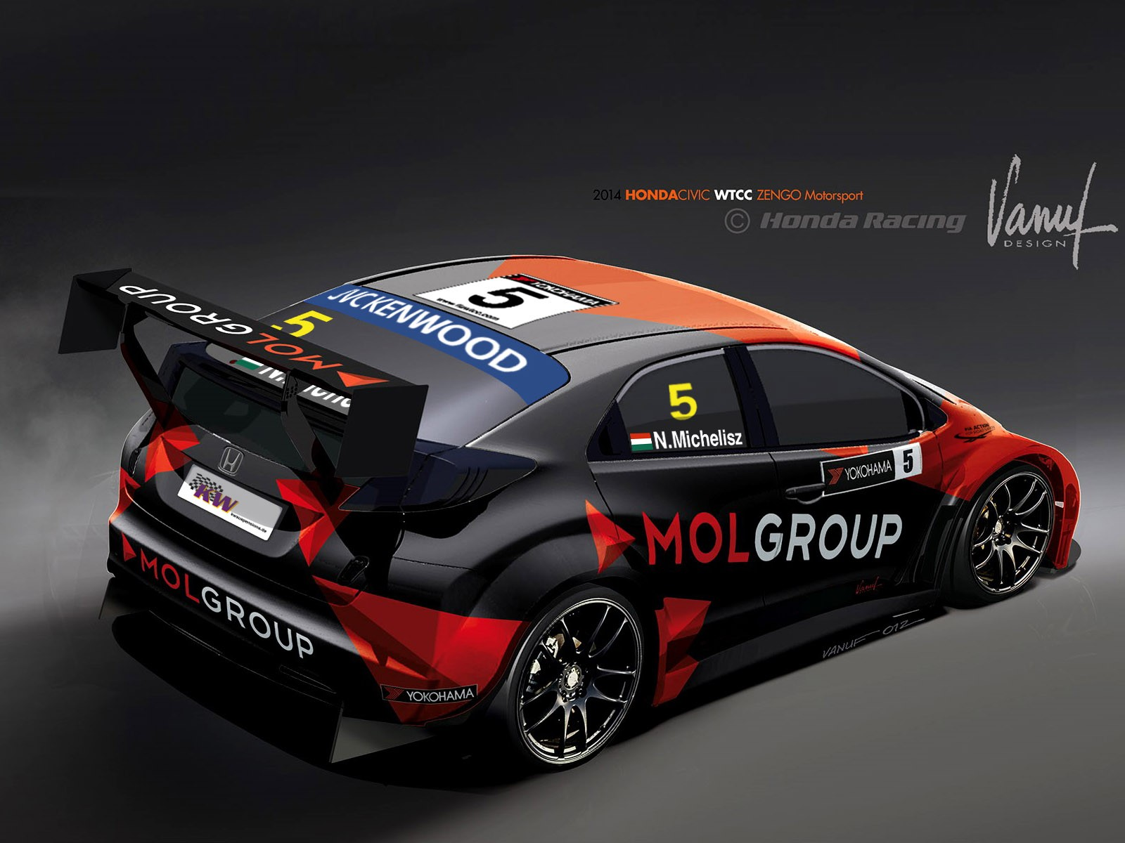 2014 Honda Civic WTCC Zengo Motorsport