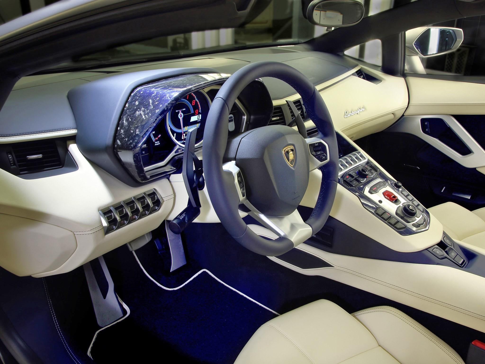 """Lamborghini Aventador lp700-4 Roadster """"AD-Personam"""" 2014"""