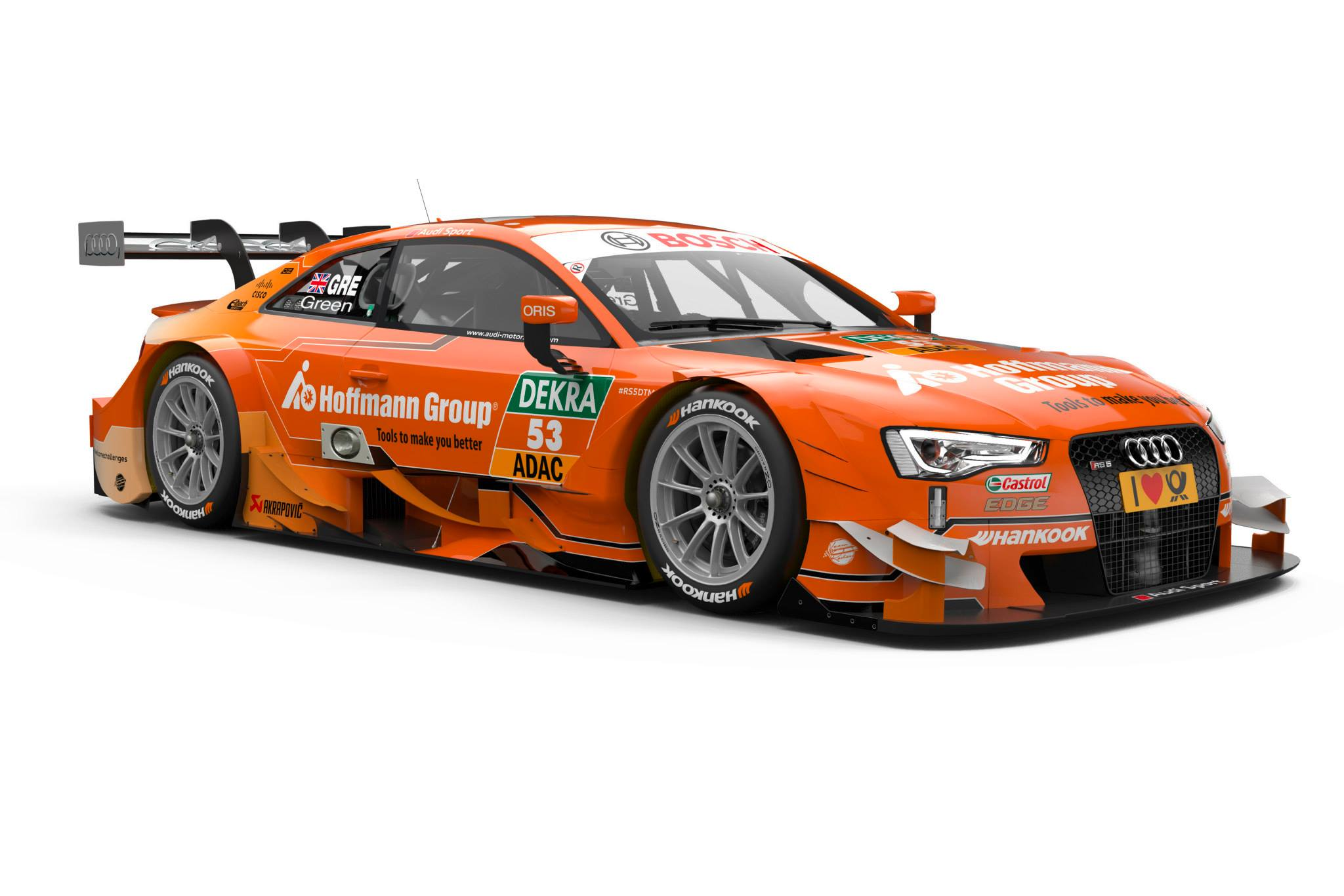 2015 Audi RS5 DTM - Jamie Green