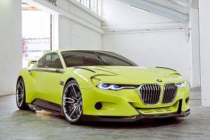 BMW 3.0 CSL Hommage R Pebble Beach 2015