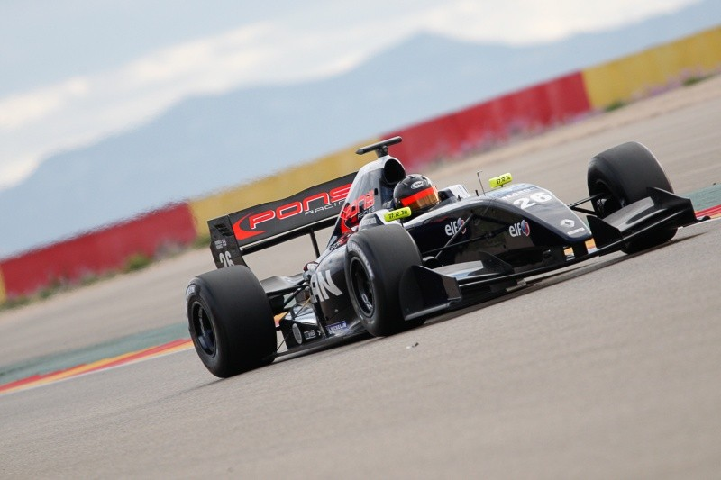 2015 Formula Renault 3.5 Series - Aragon - Philo Paz Armand