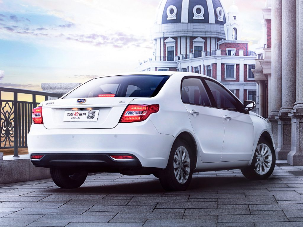 2015 Geely GC7 Vision