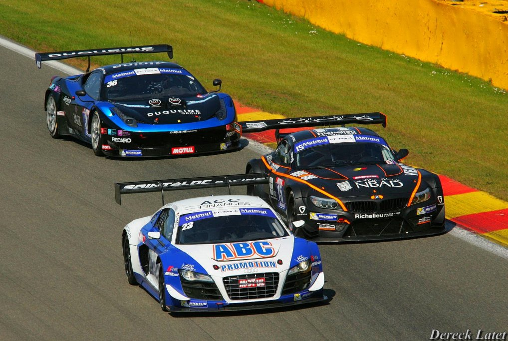 2015 FFSA GT Sainteloc Racing Audi R8 N°23