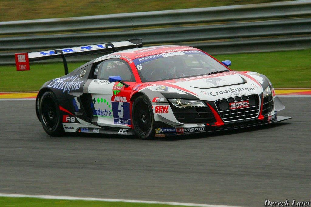 2015 FFSA GT Sebastien Loeb Racing Audi R8 N°05
