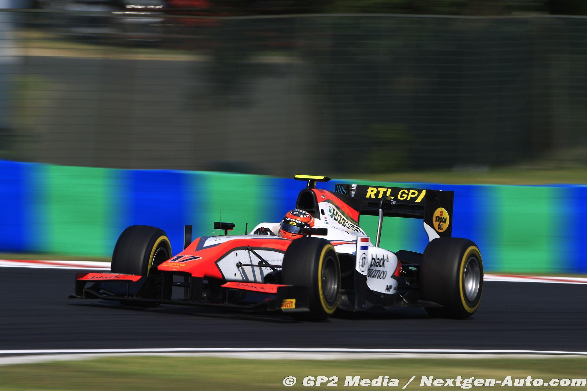 2015 GP2 Hongrie - MP Motorsport - Daniel de Jong