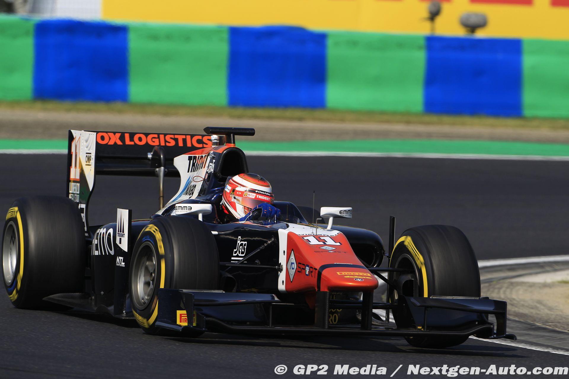 2015 GP2 Hongrie - Trident Racing - Raffaele Marciello