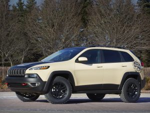 2015 Jeep Cherokee Canyon Trail Concept