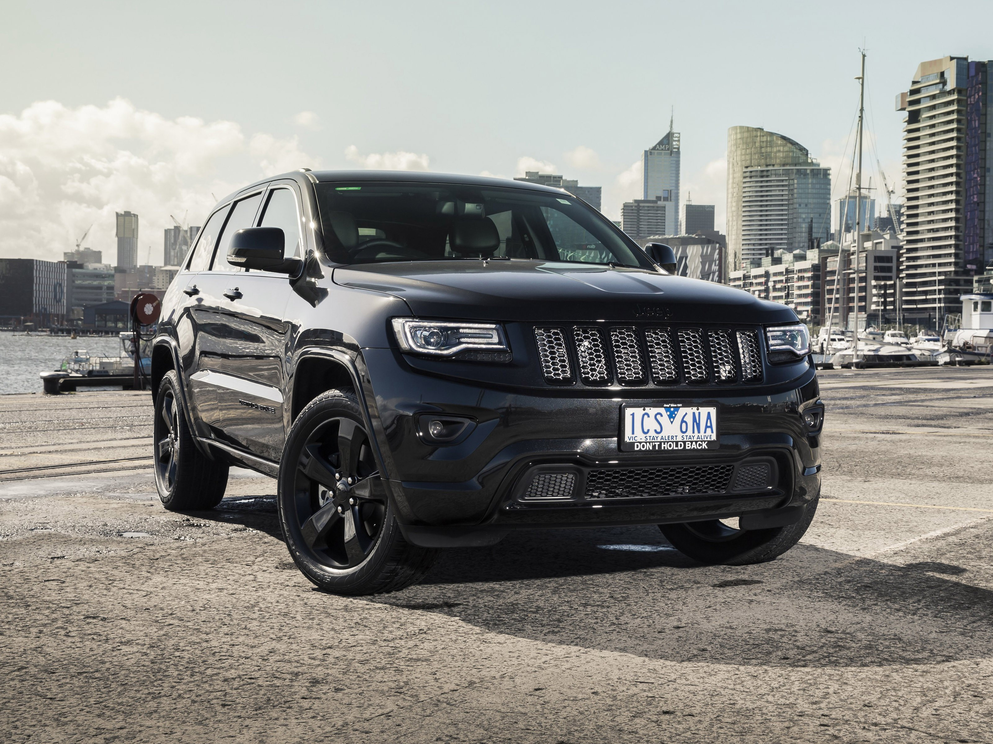 2015 Jeep Grand Cherokee Blackhawk