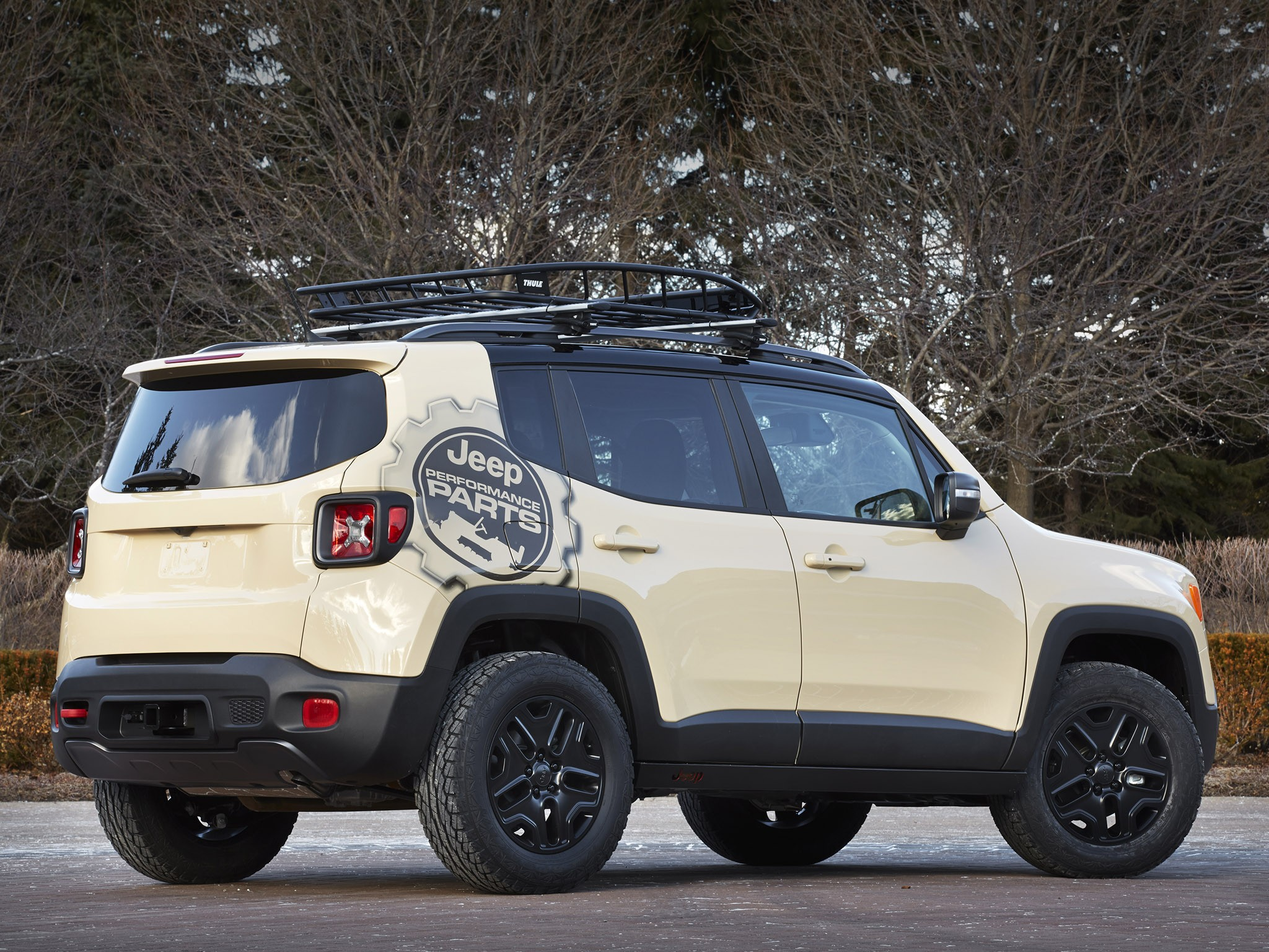 2015 Jeep Renegade Desert Hawk Concept