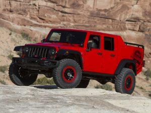 2015 Jeep Wrangler Red Rock Responder Concept JK