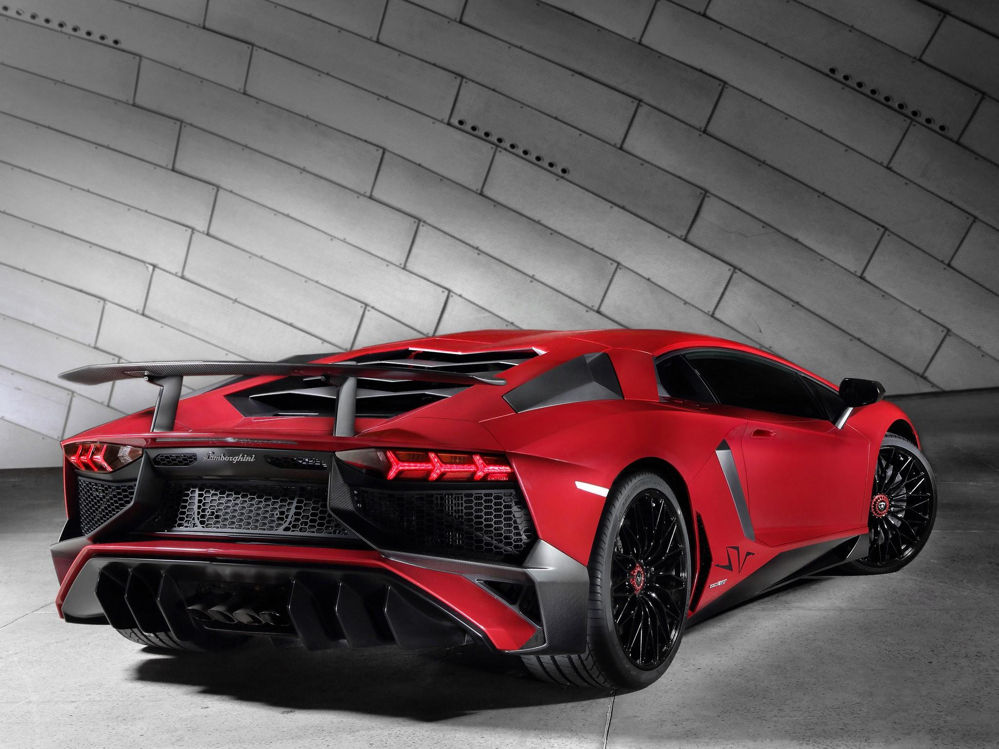 Lamborghini Aventador lp750-4 Superveloce 2015